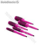 Termix Pack 5 Cepillos C-RAMIC Color | Violet Red Editiion