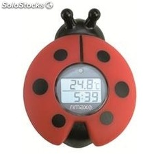 Termometro BA�o bebes rimax RB321 baby care / timer / rojo y negro