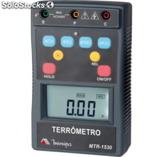 Terrômetro 4.000Ω cat iv minipa mtr-1530