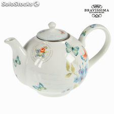 Tetera de porcelana spbu - Colección Kitchen's Deco by Bravissima Kitchen