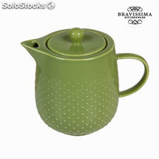 Tetera tea time verde - Colección Kitchen's Deco by Bravissima Kitchen