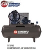 Tf2702 Compresor 5hp horizontal Campbell