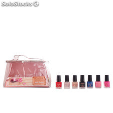 The Color Workshop nail kit case # silver 10 pz