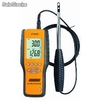 The Digital Anemometer with telescoping probe measurre in hvac ducts