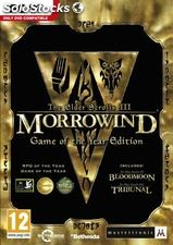 The elderscrolls iii morrowind game of the year edition (pc)