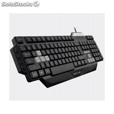 The g-Lab - KEYZ100/sp usb qwerty Español Negro teclado