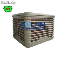 The hot evaporative air cooler