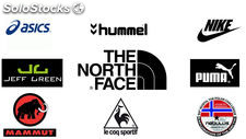 The north face mix