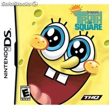 THQ - SpongeBob: Truth or Square Nintendo DS Español vídeo juego