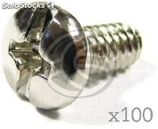 Threaded Fasteners Plastic 8mm (100 Pack) (TO05)