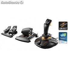 Thrustmaster - T.16000M FCS Flight Pack Palanca de mando Mac,PC Negro