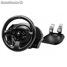 Thrustmaster - T300RS Volante + Pedales PC, Playstation 3, PlayStation 4 Negro