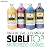 Tinta Digital Sublimática Sublitop Gênesis Kit c/ 04 cores (100ml de cada)