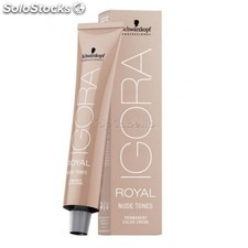 Tinte permanente igora royal nudes schwarzkopf 60ml