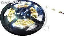 Tira de LEDs flexible 13 lm/led 30 led/m de 10m blanco calido (LR63)