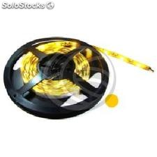 Tira de LEDs flexible 13 lm/led 30 led/m de 5m IP44 amarillo (LR22-0002)