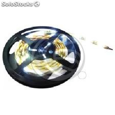 Tira de LEDs flexible 13 lm/led 30 led/m de 5m IP44 blanco intenso (LR25-0002)