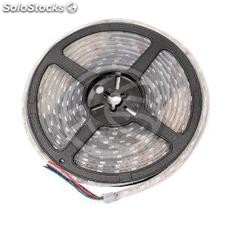 Tira de LEDs flexible 13 lm/led 60 led/m de 5m IP44 RGB (LR37-0003)