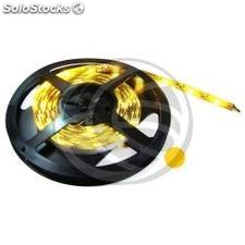 Tira de LEDs flexible 6.5 lm/led 30 led/m de 5m IP68 amarillo (LS43)