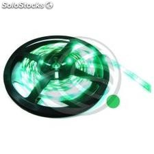 Tira de LEDs flexible 6.5 lm/led 30 led/m de 5m verde (LS04)