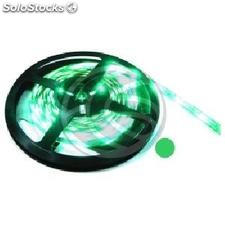 Tira de LEDs flexible 6.5 lm/led 60 led/m de 5m IP44 verde (LS34-0002)