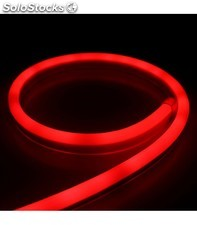 Tira de neon led flexible 24v 20w/m rojo