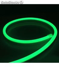 Tira de neon led flexible 24v 20w/m verde