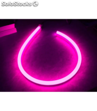 Tira de neon led flexible 24v 20w/m violeta