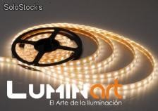 Tira led 3528 flexible 5 metros para exterior luminart