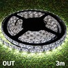 Tira LED Blanca MegaLed para Interiores y Exteriores (3 m + 90 LED)