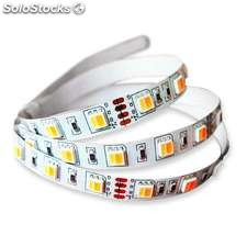 Tira led food tricolor smd5050 dc24v 5m (60 led/m) - ip20 tricolor alimentación