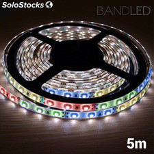 Tira LED Multicolor BandLed para Interiores y Exteriores (5 m + 60 LED)