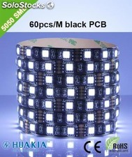 Tiras led para negro Verde 300 pieza 5050smd led/Rollo led Strip