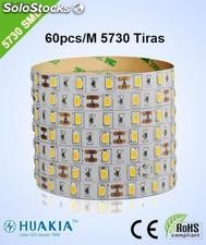 Tiras led Verde 300 pieza 5730smd led/Rollo led Strip