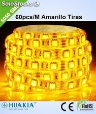 Tiras para amarillo led Verde 300 pieza 5050smd led/Rollo led Strip ip44