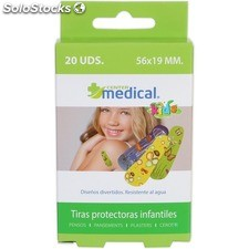 Tiras protectoras infantiles - 20 uds tamaños surtidos - center medical -