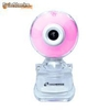 Tm-c173-pink webcam pink multi lighting con interruttore