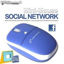 Tm-netmouse mini mouse social network usb