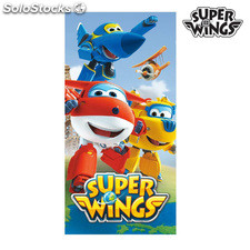 Toalla de Playa Azul Super Wings