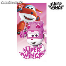 Toalla de Playa Rosa Super Wings