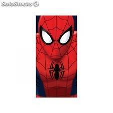 Toalla de playa spiderman face