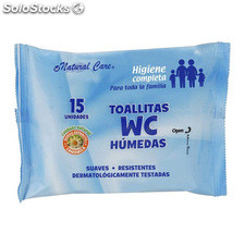 Toallitas wc 15 uds natural care - natural care - 8050040240104 - BY11020262634