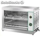 Toast grill mod top 6 - capacity n. 6 slices - 230 v single phase - power 3000 w