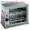Toaster - mod. genova 6 - n. 2 floors - toast capacity n. 12 - supply v 230/50hz