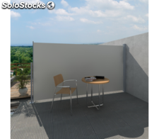 Toldo Lateral De Patio Terraza 160 x 300 cm Color De Crema