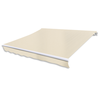 Toldo plegable color crema, 400 x 300 cm