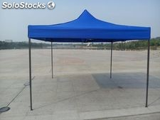 Toldo plegable fierro negro carpa impermeable toldo por mayor venta en Chile