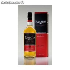 Tomatin single highland malt whisky 15 yo // whisky escocés