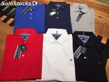 Tommy Hilfiger, Ralph Lauren, Armani Jeans polo stock wholesale hurt