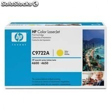 Toner amarillo HP c9722a 8000 pags Laserjet color series 4600 / 4650